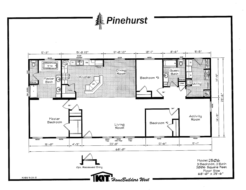 2506 FLOORPLAN jpg. Pinehurst Model Floor Plans   Century Homes Idaho